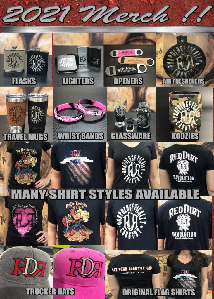 2021 RDR Merchandise